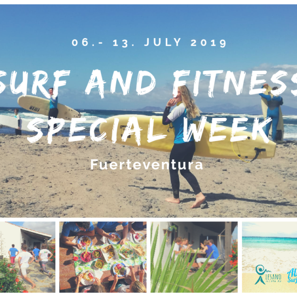 Surf and Fitness special week