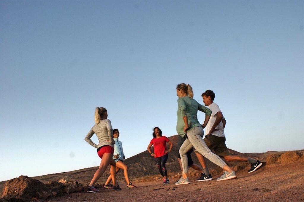 Bewegung auf Fuerteventura